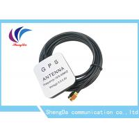 Buy cheap Waterproof 28dBi Gain Automotive Gps Antenna 1575.42MHz Aerial Strong Magnet product
