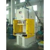 Buy cheap PLC Drive Sheet Hydraulic C Type Power Press Machines with Large Capacity product