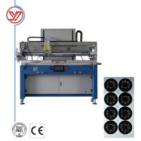 Buy cheap Semi Automatic Silk Screen Printing Machine With PLC Programming Controller product