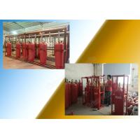 Chemical FM 200 Fire Suppression System Of 120L Type Cylinder