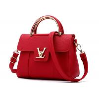 Buy cheap Elegant Private Lable Soft Leather Handbags , Single Shoulder Bag For Ladies 103W product