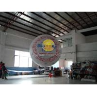 Buy cheap Filled helium sphere balloons with two sides digital printing for Outdoor advertising from Wholesalers