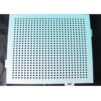 Buy cheap Ceiling Aluminum Perforated Metal , Stamping Punched Aluminum Sheet Panelling Decoration product