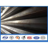 Buy cheap 11m Q345 Polygonal Hot dip Galvanized Electric Transmission Steel Pole product