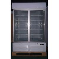 Buy cheap 1000L Supermarket Glass Door Display Freezer With Inner Vertical LED Lighting product