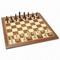 Buy cheap Wooden Chess, Measures 48 x 48 x 1.5cm, Weighs 2.94kg product