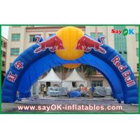Buy cheap OEM Huge Blue Inflatable Arch For Racing Advertisment W7mxH4m from wholesalers