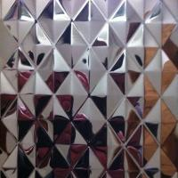 Buy cheap SUS304 Stainless Steel Embossing Sheets ,PVD Color Decoration Sheets 1250mm 1500mm Rose gold, Brown, Bronze product