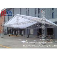 Buy cheap Line Array Stage Lighting Truss Systems 6082-T6 Aluminum Alloy High Hardness product