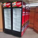 Buy cheap Commercial supermarket cooler upright display single door beverage cooler product