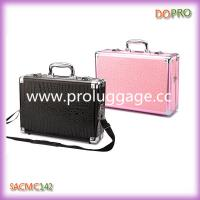 Buy cheap New style customized single open aluminum makeup case with shoulder strap(SACMC142) product