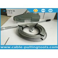 Buy cheap 1.6T Tirfor Cable Pulling Tools Wire Rope Winch product