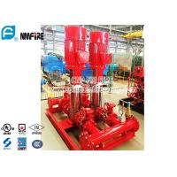 Buy cheap NFPA20 Fire Pump Set With Vertical Multistage Electric Motor Driven , Jockey Pump Set product