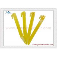 Buy cheap Plastic Tent Peg stakes 18cm product