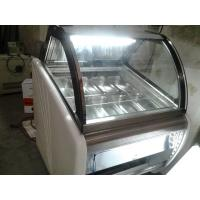 Buy cheap Portable Popsicles Ice Cream Display Case With Optional Trays / Ice Cream Display Unit from wholesalers