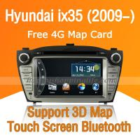 Buy cheap 7 Inch DVD Stereo with GPS CAN Bus ISDB-T for Hyundai IX35 from wholesalers
