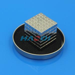 China magic neodymium magnets block cube on sale