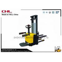 China CE Electric Pallet Stacker for material handling / supermarket stacker on sale