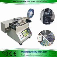 Buy cheap 110-220V English System Automatic Ultra-high-speed Color Trace Position Label Hot Cold Cutter Cutting Width 0-100mm product