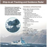 Buy cheap Long Range Ground Surveillance Radar Systems With IR Compound Tracking System from Wholesalers