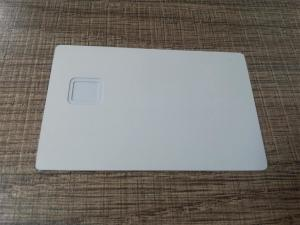 China Lower Price Customized Laser Engraved Matte White Stainless Steel Metal Business Card on sale