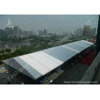 Buy cheap Outdoor Event Tent Structure with 850 gsm White Fabric Avoiding Ultraviolet Ray from Wholesalers