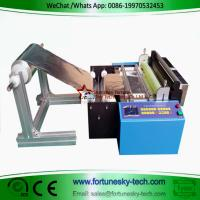 Buy cheap aluminum foil slicing machine automatic PVC film slicer plastic film cutting machine non-woven fabric slicer product