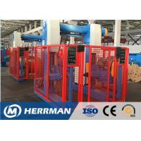 Buy cheap Aluminum Conductor Cable Rewinding Machine With Taping Head 100m / Min Line Speed product
