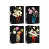 Buy cheap Customized Paper Bags with flower patterns for daily shopping product