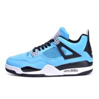 Buy cheap Hot Super perfect quality Mens air jordan 4 Joy Blue popular jordan 4 Basketball Shoes with free shipping and shoes box product