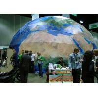 Buy cheap PVC Fabric Geodesic Dome Tents Strong Steel Structure 25M Diameter from wholesalers