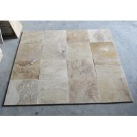 Buy cheap Mixed Color Travertine Tiles Natural Paving Stone Travertine Wall Tiles Patio Stone product