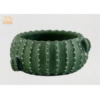 Buy cheap Cactus Shaped Flower Pots Mini Plant Pots Cement Pot Planters Green Color Succulents Pot product