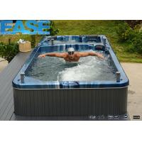 Buy cheap Acrylic portable square whirlpool massage bathtub swim spa, SW-59A, 5900*2250*1320mm product