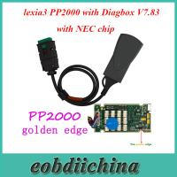 Buy cheap Lite Version lexia3 PP2000 with Diagbox V7.83 Software for Citroen/Peugeot with NEC chip product
