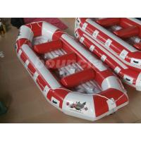 Buy cheap Fun Inflatable Raft Boat Inflatable River Rafts With Durable Base product