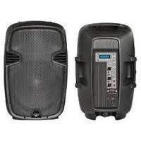 Buy cheap 300W Portable DJ Stage Plastic Powered Audio USB SD Two-Way PP Powered Active PA Speaker product