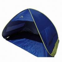 Buy cheap New Pop-up Beach Tent Umbrella, Cabana Sunshade Shelter, Anti-UV, Ideal for Family Outing product