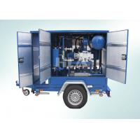 Buy cheap Low Operating Cost Transformer Mobile Oil Purifier With Siemens PLC Auto Control System product