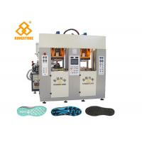 Buy cheap Two Stations TPU TR PVC TPR Sole Making Machines For Brand Shoes / 3.5*3.8*2.8m product