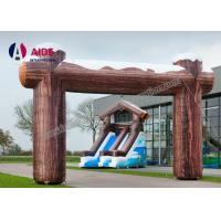 Buy cheap Wood Inflatable Balloon Inflatable Entrance Arch Hire Brisbane Used product