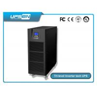 Buy cheap 0.8 Power Factor Tower Type High Frequency Online Ups 6k-10k With LED / LCD Display Selectable product