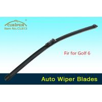 High carbon steel rubber auto wiper blades for new golf 6 car one year
