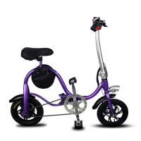 Buy cheap Disc Brake Fold Up Electric Bike Aluminum 6061 Body Material S1 Stem Folding product