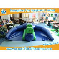 0.9mm PVC Inflatable Flying Fish Inflatable Boat Water Games For Sea / Lake