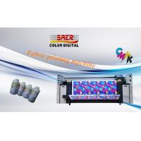 Buy cheap 3.5kw Heater Power Fabric Plotter / Cotton Fabric Printing Machine Large Format Size product
