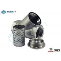 Buy cheap 20 Mesh Y Strainer Replacement Screens Stainless Steel 304 316 Material Made product