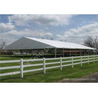 Buy cheap Grassland Set up Aluminum Framed clearspan fabric structures Outdoor product