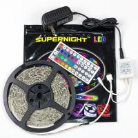 Quality 44 Key IR Remote Control RGB LED Strip Lights With Color Changing for sale