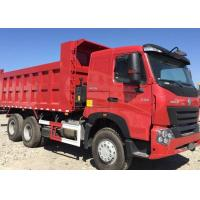 Buy cheap Professional 20 - 30 Ton Dump Truck SINOTRUK HOWO A7 6x4 Dump Truck With 380HP from wholesalers